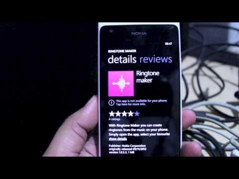 Windows Phone 7.8 on the Nokia Lumia 900