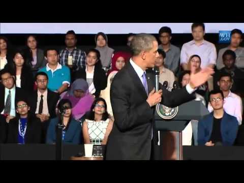 Obama Speaks To Malaysian Young Leaders - Full Speech