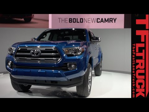 2016 Toyota Tacoma & TRD 4X4 Off Road: Everything You Ever Wanted To Know