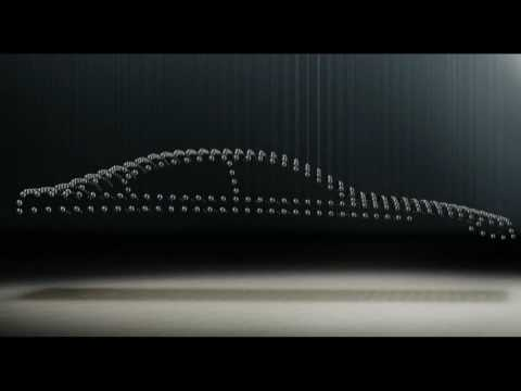 The new BMW 5 Series Sedan - kinetic sculpture trailer