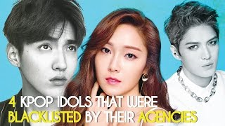 Download Lagu 4 Kpop Idols That Were Blacklisted By Their Agencies Gratis STAFABAND