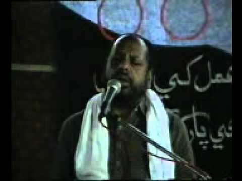 Manzoor Solangi Majlis In Sindhi  At Sher Ali Shah Daur On June 8 Rajab 2011  Masaib Bibi Fatima Sa Part =1= video