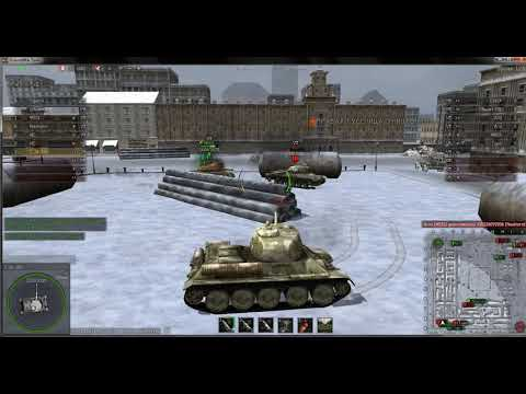 Ground War Tanks Т-34-100 Москва