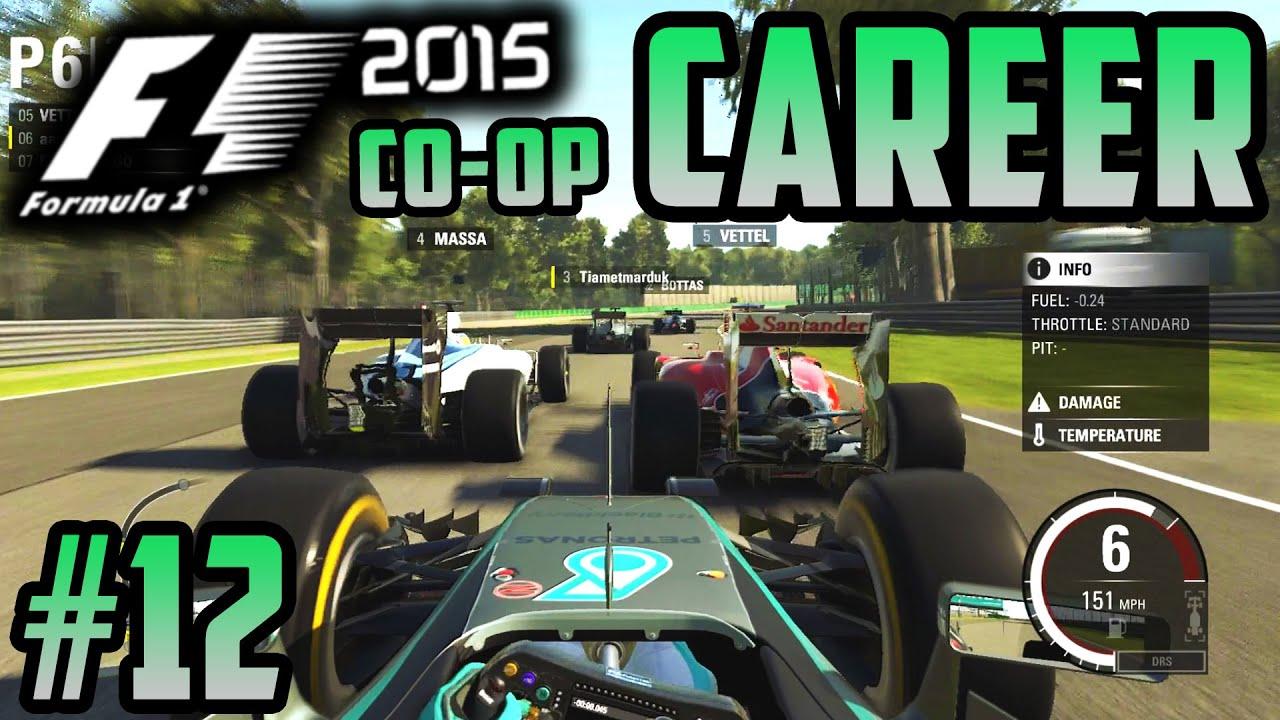 F1 2015 CO-OP CAREER PART 12: TRIPLE OVERTAKES?!