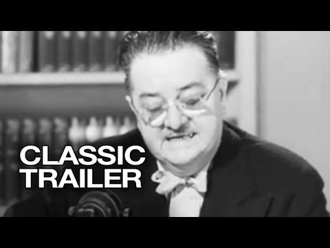 Goodbye, Mr. Chips Official Trailer #1 - Greer Garson Movie (1939) HD