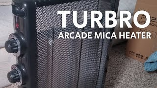 TURBRO 'Arcade' HR1015 Mica, 1500W Space Heater review