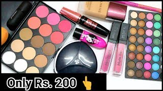 BEST MAKEUP PRODUCTS UNDER Rs. 200 Only..! Affordable & Good Quality Makeup Products   Thatglamgirl