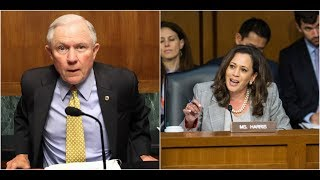 Kamala Harris Gets Shut Down by Jeff Sessions after going on a Rampage!!!