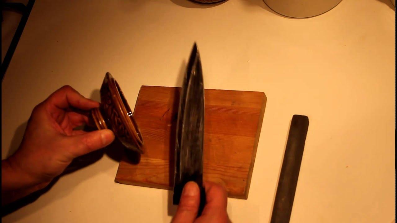 Как наточить нож в домашних условиях. - Доктор Лом. Первая 29