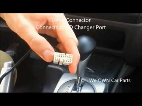 Honda    Civic    iPodiPhoneiPad AUX Adapter Easy Installation