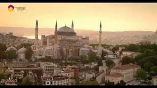Fon Müziği Eşliğinde Havadan İstanbul - TRT DİYANET
