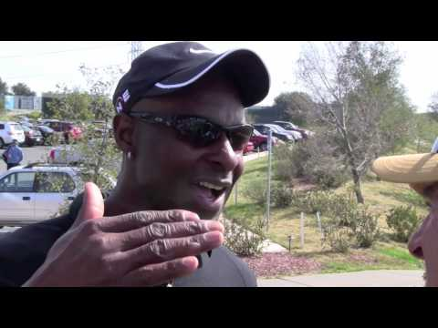Jerry Rice goes pro....in golf!