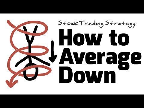 Stock Trading Strategy: How To Average Down