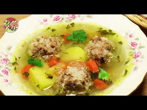 Суп с фрикадельками. Просто, вкусно, недорого.