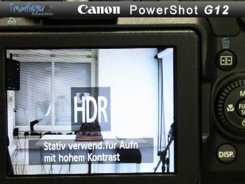 Traumflieger.de - Canon PowerShot G12