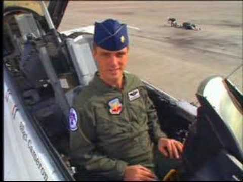 USAF Thunderbird F-16: Up Close and Personal Video