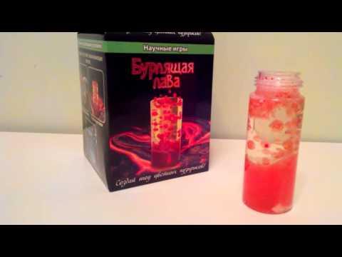 Видео обзор  Бурлящая Лава из серии Научные Игры.