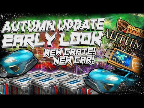 *EARLY LOOK* SPECIAL AUTUMN UPDATE INFO | POSSIBLE SECRETS | (Rocket League Theories)