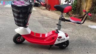 Xe điện e-scooter mini chính hãng, giá rẻ tại Baby Plaza