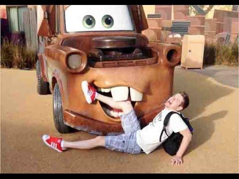 Walt Disney World Day 1 - Meeting Tinker Bell and Crazy Car Race