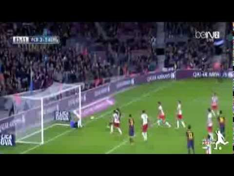Barcelona vs Almeria 4-1 2/03/2014