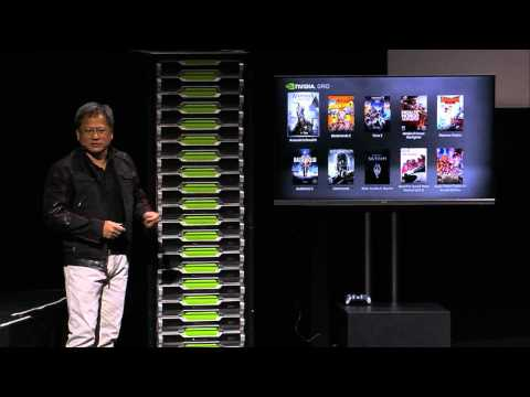 NVIDIA Press Conference - NVIDIA GRID - at CES 2013 (Part 2)