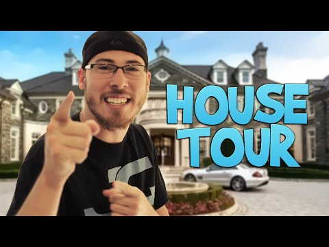 JoblessGamers HOUSE TOUR - Gaming Setup, Car Showcase & More