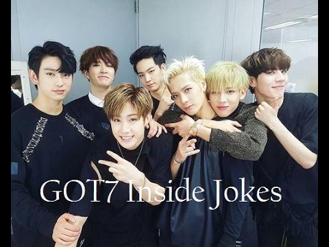 Download Lagu GOT7- Inside Jokes #1 (and then... eat, wang gae park gae, oh my stress, ...) MP3 Free