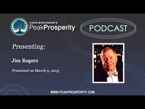 Jim Rogers: We're Wiping Out The Savings Class Globally, To Terrible Consequence