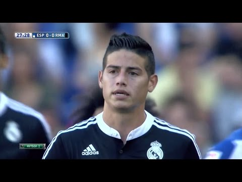 James Rodriguez vs Espanyol Away (18/05/2015) HD 720p by James10i