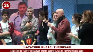 Voleybol Veteranlar Atatürk Kupası Ödül Töreni