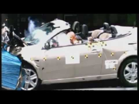 crash test renault megane cc 2004 youtube. Black Bedroom Furniture Sets. Home Design Ideas
