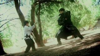 Brendon Huor Vs. Andy Le Kung Fu Fight Scene (Shaw Bros. Homage)