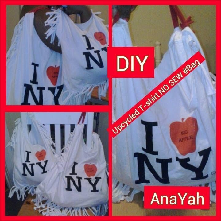 Diy Upcycled t Shirt Diy:upcycled T-shirt no Sew