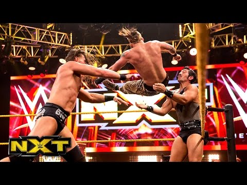 Enzo Amore & Colin Cassady vs. The Vaudevillains: WWE NXT, Aug. 21, 2014