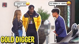 This GOLD DIGGER Left Her 5 YEAR BOYFRIEND After Seeing Me! This got bad...