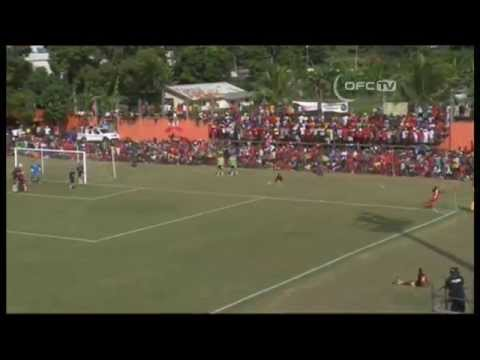 Amicale and Auckland City drew 1-1 at PVL Stadium in Port Vila, Vanuatu, in the OFC Champions League Final 1st Leg. http://www.oceaniafootball.com/ofc/News/V...