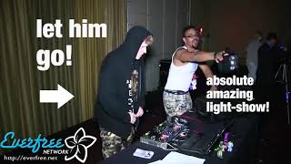 best epic funny dj fail ever, funny dj intro, a weapon - must see!