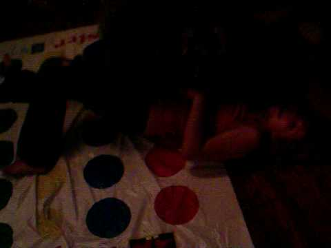 Sarah Almost Broke My Arm Playing Twister Video