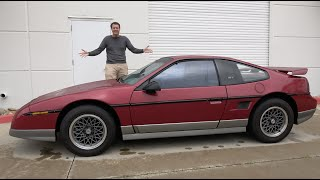 The Pontiac Fiero Was GM's Mid-Engine 1980s Sports Car
