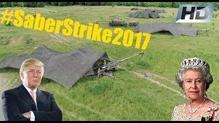 British & US Troops Hold Joint Artillery Exercise in Poland #SaberStrike2017