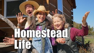 OFF GRID with Doug and Stacy | Day 2 | Missouri Homestead