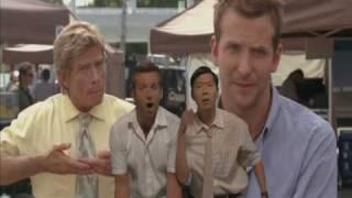 Sandra Bullock Bradley Cooper Ken Jeong singing I wanna know all about steve