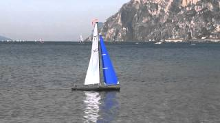 "HK Sailboat ""Phantom 1m89"" on lake Garda 2013"