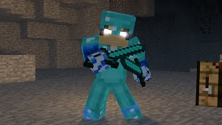 """♬ """"CRAFTED"""" - MINECRAFT PARODY OF """"PERFECT"""" BY ONE DIRECTION - TOP MINECRAFT SONG ♬"""