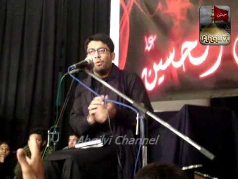 Live Mir Hassan Mir 2012 - ( Kya Hussain (a.s) Hai ) At Aza Khana Bakhtiari House Lahore Part -2 video