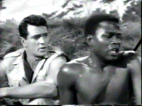 Rock Hudson and Sidney Poitier - Good Friends