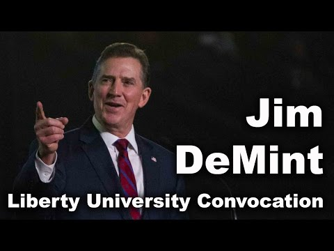 Jim DeMint - Liberty University Convocation