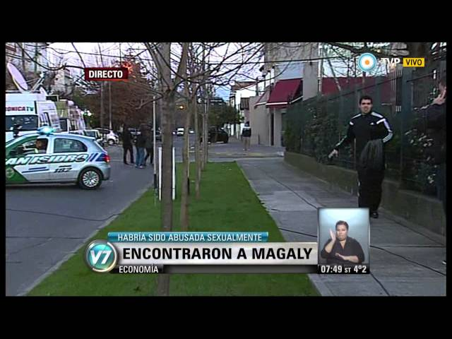 Visión 7 - Apareció Magaly