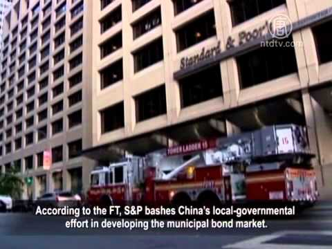 S&P Finds Half of Communist Local Governments Deserve Junk Ratings.